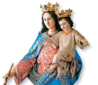 mary help of christians basilica of our lady help of christians turin valdocco salesian sisters of Don Bosco Virgen Maria